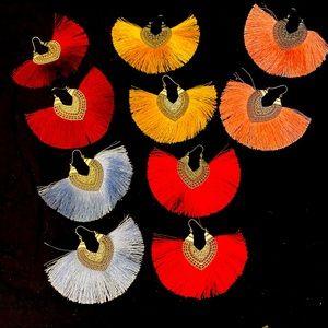 Bundle of FIVE PAIR of Tassel Earrings